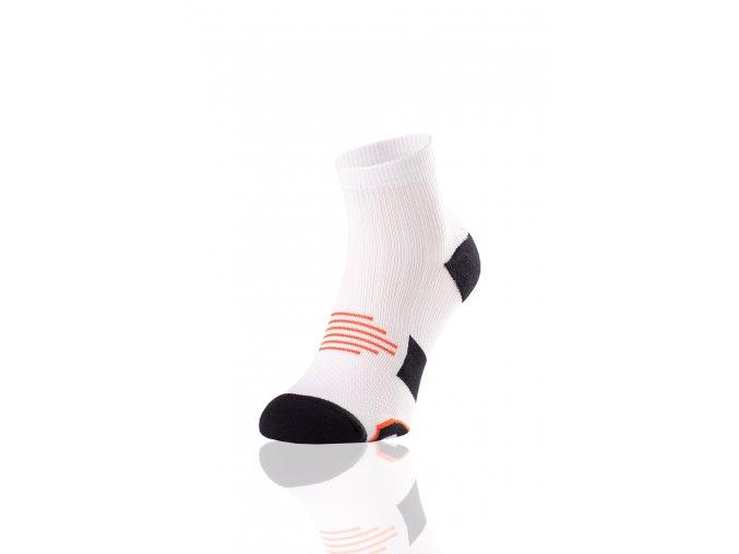 Bežecké Ponožky Maraton RMN-1 - Bílá