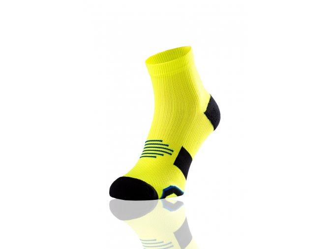 Bežecké Ponožky Maraton RMN-2 - Citronová