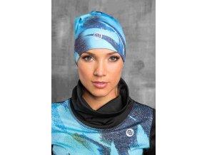 Zateplená sportovní čepice ACS-953 - Blue Feather